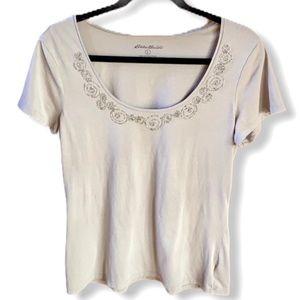 Eddie Bauer Women's Short Sleeve T-Shirt S…